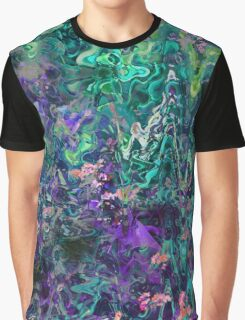 Green Exotic Graphic T-Shirt