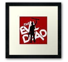 the evil dead ash vs evil dead Framed Print