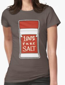 100% Pure Salt Womens Fitted T-Shirt