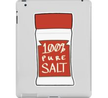 100% Pure Salt iPad Case/Skin