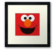 Cute Elmo Framed Print