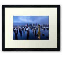 dockland Framed Print