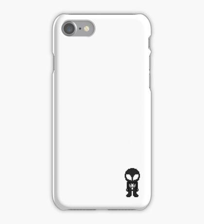 Pixel Black Suit Spider-man iPhone Case/Skin
