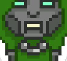 Pixel Dr. DOOM Sticker