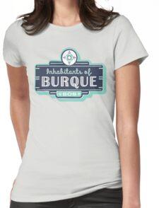 Inhabitants of Burque T-Shirt Womens Fitted T-Shirt