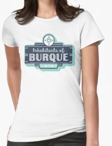 Inhabitants of Burque T-Shirt Womens Fitted T-Shirt