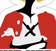 Luffy is Hero Sticker