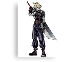 Cloud Strife Final Fantasy VII/Super Smash Bros Canvas Print