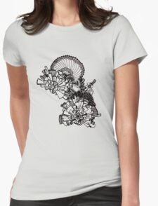 City skies Womens Fitted T-Shirt