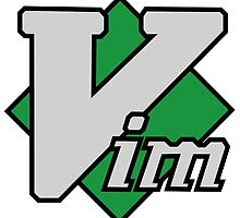 Vim logo by Jugulaire
