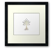 White Tree of Gondor Framed Print
