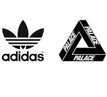 Adidas X Palace logo by hiltxn