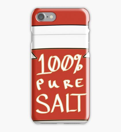100% Pure Salt iPhone Case/Skin