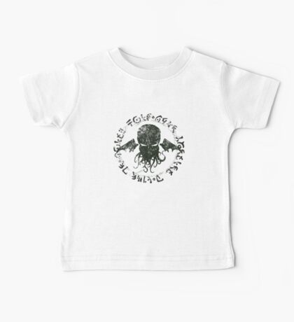 In his house at R'lyeh dead Cthulhu waits dreaming Baby Tee