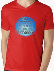 A Crystal - reworked Mens V-Neck T-Shirt