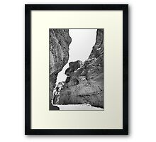 Sesriem Canyon Framed Print