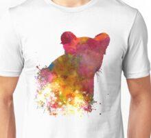 Female Lion 02 in watercolor Unisex T-Shirt