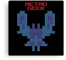 Retro Geek - Galaxian Canvas Print