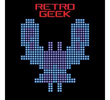 Retro Geek - Galaxian Photographic Print