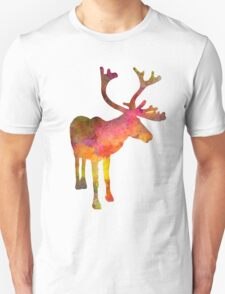 Reindeer 02 in watercolor T-Shirt