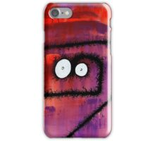 the creatures from the drain painting 6 iPhone Case/Skin