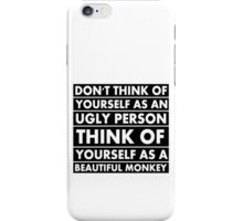 Beautiful monkey iPhone Case/Skin