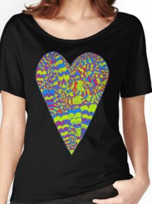Psy Heart Women's Relaxed Fit T-Shirt