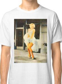 Marilyn Monroe by Frank Falcon Classic T-Shirt
