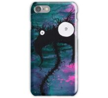 the creatures from the drain painting 7 iPhone Case/Skin