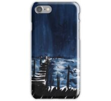 seaside pier iPhone Case/Skin
