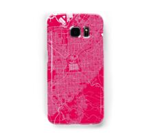 Adelaide map raspberry Samsung Galaxy Case/Skin