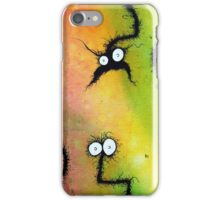 the creatures from the drain painting 8 b iPhone Case/Skin