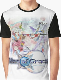 TALES OF GRACES TSHIRT coverart + logo Graphic T-Shirt
