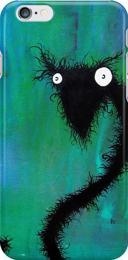 the creatures from the drain painting 2 by brandon lynch