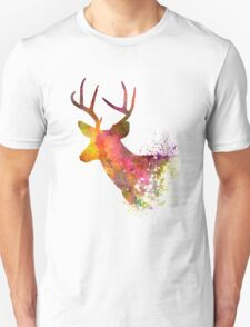 Male Deer 02 in watercolor T-Shirt