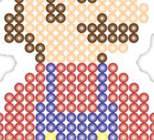 Retro Geek - Mario Sticker