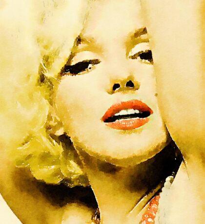 Marilyn Monroe by Frank Falcon Sticker