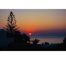MONOLITHOS SUNRISE 2 Photographic Print
