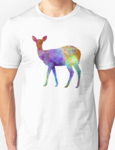 Female Deer 02 in watercolor T-Shirt