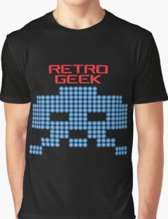 Retro Geek - Space Invaders Graphic T-Shirt
