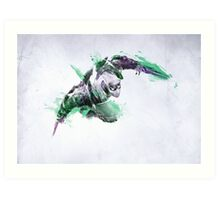 Zed Watercolor vol.2 League of Legends Art Print