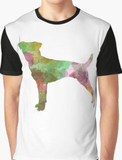 Parson Russell Terrier in watercolor Graphic T-Shirt