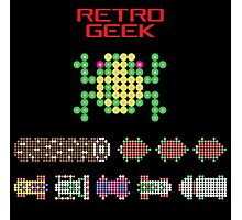Retro Geek - Frogger Photographic Print