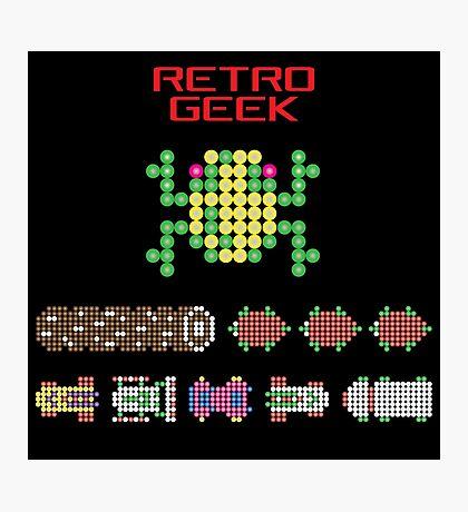 Retro Geek - Frogger Photographic Print