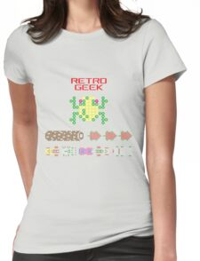 Retro Geek - Frogger Womens Fitted T-Shirt