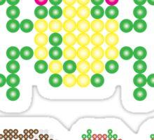 Retro Geek - Frogger Sticker