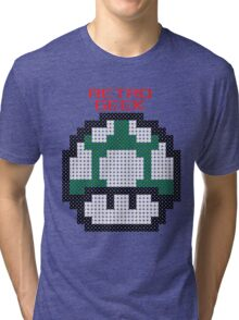 Retro Geek - One Up Tri-blend T-Shirt