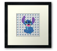 Stitch Framed Print