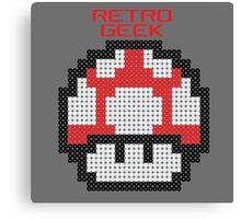 Retro Geek - Get Big Canvas Print