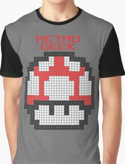 Retro Geek - Get Big Graphic T-Shirt